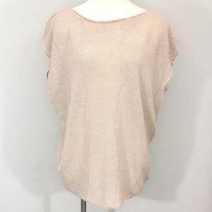 Sarah Pacini Blush Sleeveless Sweater